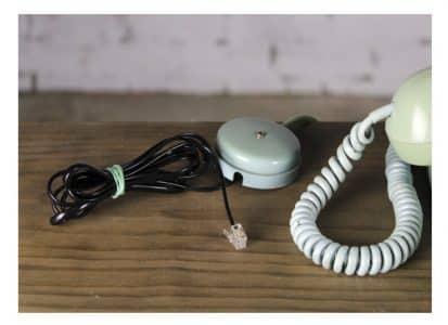 Teléfono vintage verde pontevedra