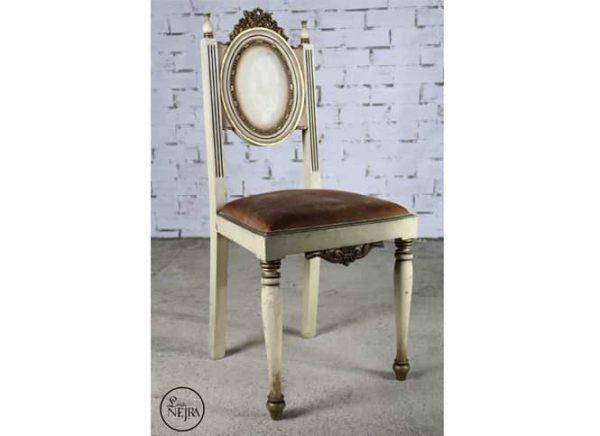 silla de tocador vintage