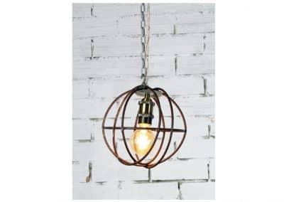 Lámpara bola de rejilla