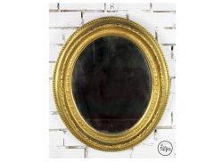 Antiguo espejo de escayola
