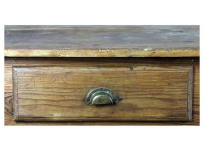 Mesa tocinera antigua de madera de Ripa