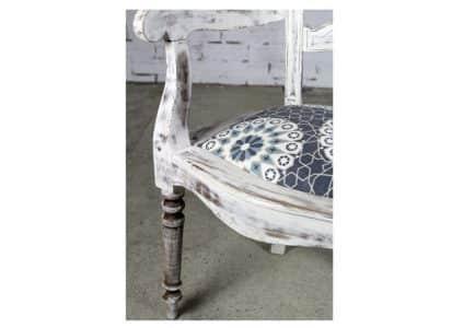 Silla antigua vintage estilo Carlos IV