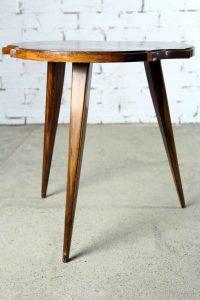 Mesita auxiliar vintage de madera