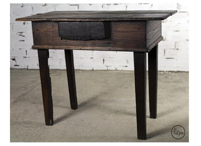 Mesa tocinera de madera