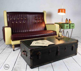 Sofá vintage antiguo