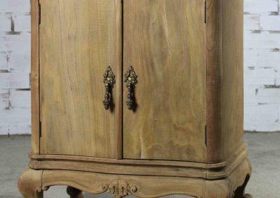 Mesilla antigua vintage diseño curvo
