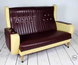 Sofá vintage americano