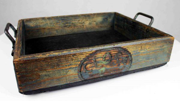 Cajón industrial de madera