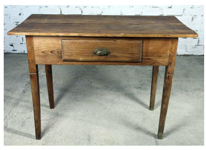 Mesa tocinera en madera de ripa